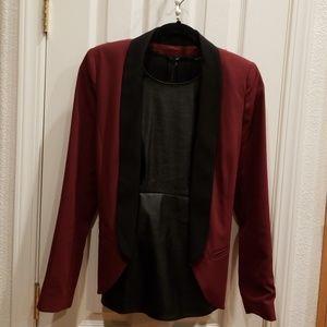 Tux style blazer